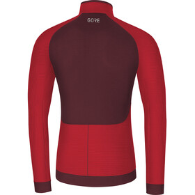 GORE WEAR Thermo Shirt Herrer, red/chestnut red